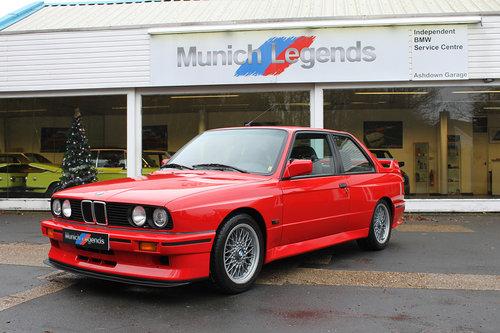 1990 BMW E30 M3 Sport Evo For Sale (picture 1 of 6)