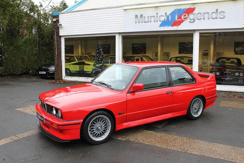 1990 BMW E30 M3 Sport Evo For Sale (picture 2 of 6)