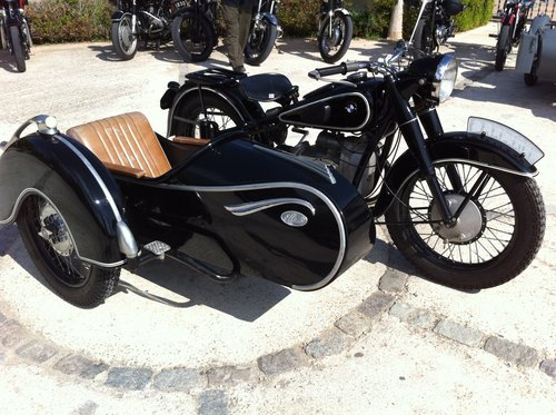 1938 BMW R71 with Sidecar For Sale (picture 1 of 6)
