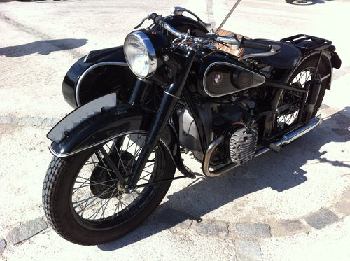 1938 BMW R71 with Sidecar For Sale (picture 2 of 6)