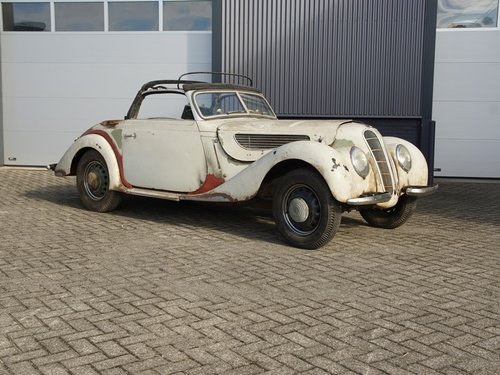 1939 BMW 327 Cabriolet matching numbers, unique and very solid pr For Sale (picture 1 of 6)