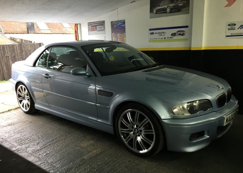 2002 BMW M3 convertible Individual silverstone ltd edn rare For Sale (picture 1 of 6)
