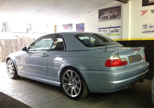 2002 BMW M3 convertible Individual silverstone ltd edn rare For Sale (picture 2 of 6)