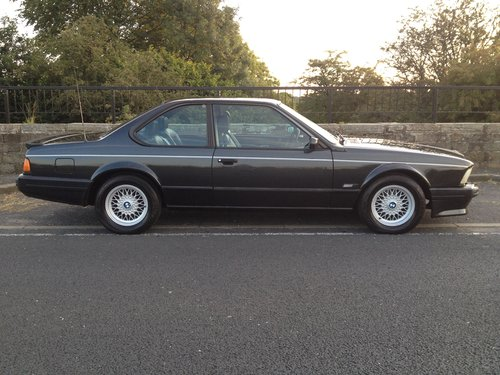 1989 Bmw 635 csi highline Auto SOLD (picture 1 of 6)