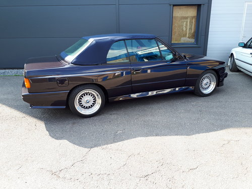 BMW M3 E30 convertible (1992) macao blue (1 of 786) LHD For Sale (picture 4 of 6)