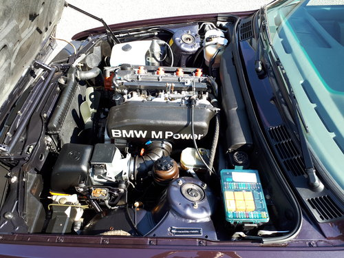 BMW M3 E30 convertible (1992) macao blue (1 of 786) LHD For Sale (picture 5 of 6)