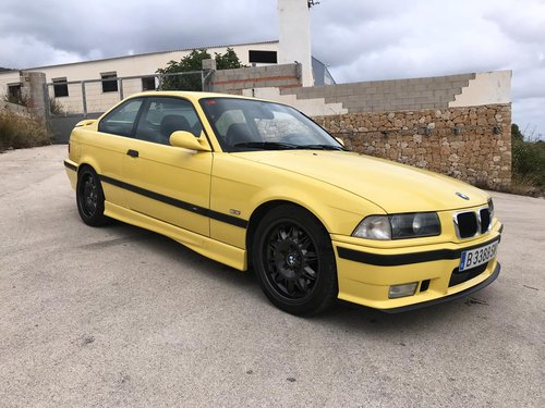 1995 Bmw e36 m3 evo 321 bhp For Sale (picture 1 of 6)