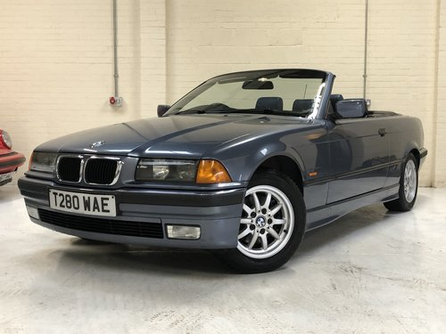 1999 BMW E36 323I CONVERTIBLE MANUAL - STUNNING CONDITION SOLD (picture 1 of 6)