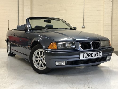 1999 BMW E36 323I CONVERTIBLE MANUAL - STUNNING CONDITION SOLD (picture 2 of 6)