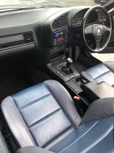 1999 BMW E36 323I CONVERTIBLE MANUAL - STUNNING CONDITION SOLD (picture 6 of 6)