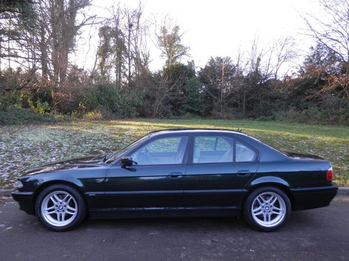 2001 BMW E38.. 728i Sport Auto.. M-Sport Pack From New.. Top Spec SOLD (picture 1 of 6)