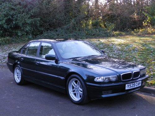 2001 BMW E38.. 728i Sport Auto.. M-Sport Pack From New.. Top Spec SOLD (picture 2 of 6)