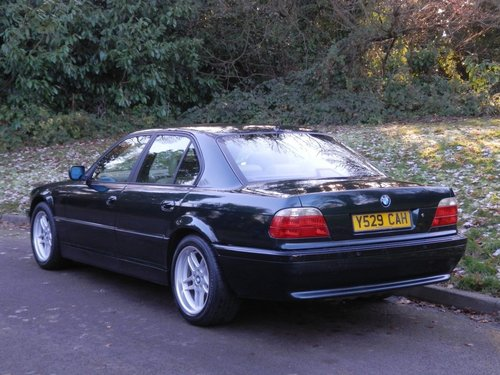 2001 BMW E38.. 728i Sport Auto.. M-Sport Pack From New.. Top Spec SOLD (picture 5 of 6)