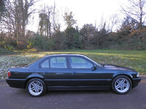 2001 BMW E38.. 728i Sport Auto.. M-Sport Pack From New.. Top Spec SOLD (picture 6 of 6)