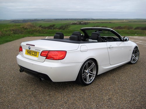 2011 BMW 335i Twin Turbo DCT Convertible With Only 27,000 Miles For Sale (picture 6 of 6)