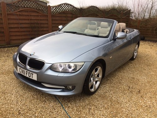 2011 Bmw 320se 2.0 td cabriolet coupe, 36000 miles SOLD (picture 2 of 6)