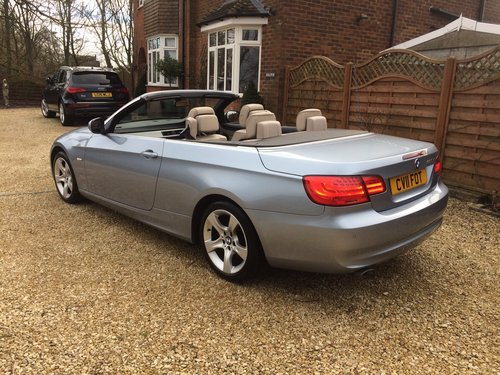 2011 Bmw 320se 2.0 td cabriolet coupe, 36000 miles SOLD (picture 3 of 6)