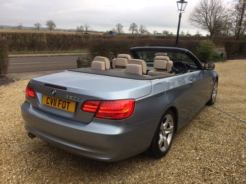 2011 Bmw 320se 2.0 td cabriolet coupe, 36000 miles SOLD (picture 4 of 6)