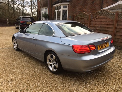 2011 Bmw 320se 2.0 td cabriolet coupe, 36000 miles SOLD (picture 6 of 6)