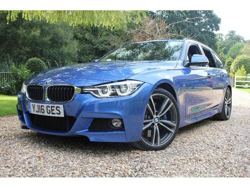 2016 BMW 3 Series 2.0 330i M Sport Touring (s/s) 5dr For Sale (picture 1 of 1)