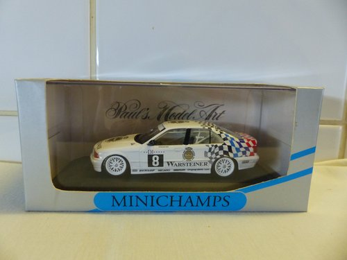 BMW 318i-ADAC TW-CUP 1994-MINICHAMPS 1:43 SCALE For Sale (picture 3 of 6)