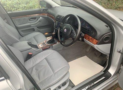 2002 BMW E39 Alpina B10 V8 S  ONE OF 42 RHD UK CARS For Sale (picture 3 of 6)