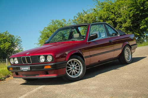1991 Elegant BMW 316i Baur TC2 Convertible For Sale (picture 1 of 6)