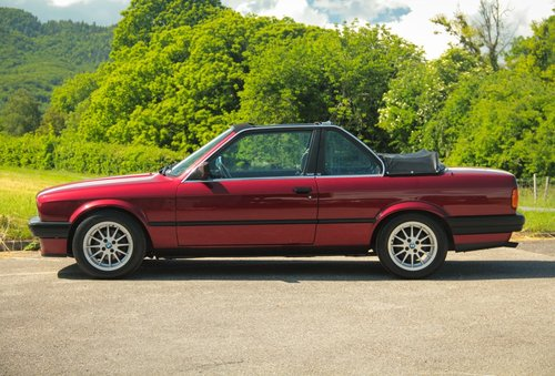 1991 Elegant BMW 316i Baur TC2 Convertible For Sale (picture 5 of 6)