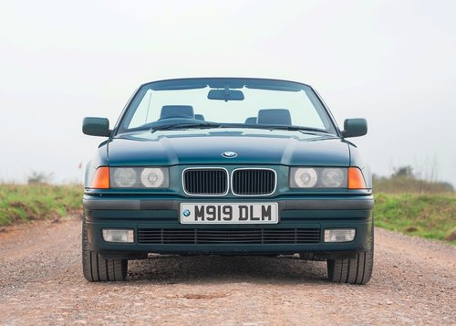 1995 BMW 328i Convertible SOLD by Auction (picture 1 of 6)
