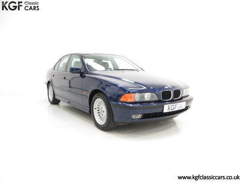 1996 An Outstanding BMW E39 523i SE with One Owner, 32,647 Miles SOLD (picture 1 of 6)
