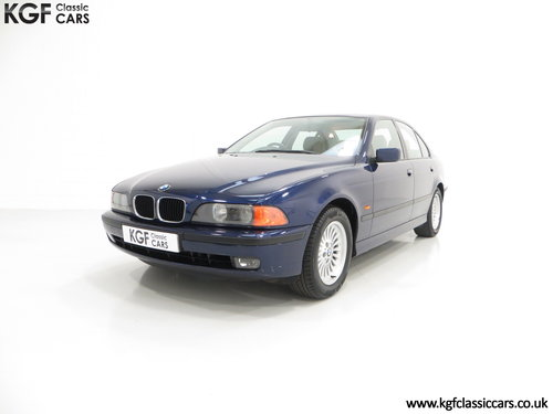 1996 An Outstanding BMW E39 523i SE with One Owner, 32,647 Miles SOLD (picture 2 of 6)