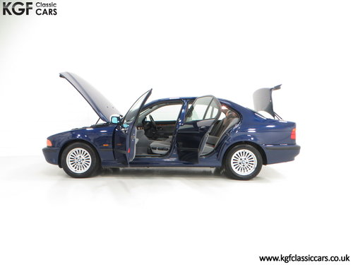 1996 An Outstanding BMW E39 523i SE with One Owner, 32,647 Miles SOLD (picture 3 of 6)