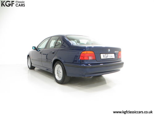 1996 An Outstanding BMW E39 523i SE with One Owner, 32,647 Miles SOLD (picture 4 of 6)