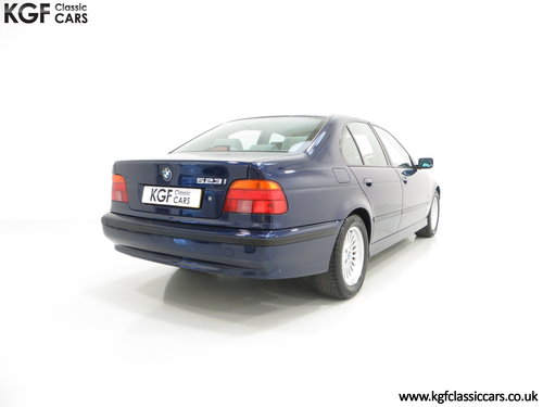 1996 An Outstanding BMW E39 523i SE with One Owner, 32,647 Miles SOLD (picture 5 of 6)