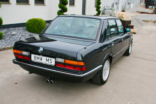 1987 BMW M 5 e 28 For Sale (picture 3 of 6)