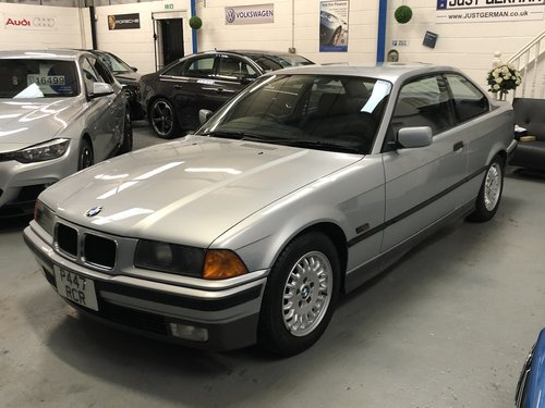 1996 BMW 3 SERIES E36 328i Auto Coupe **22k Miles** For Sale (picture 1 of 6)