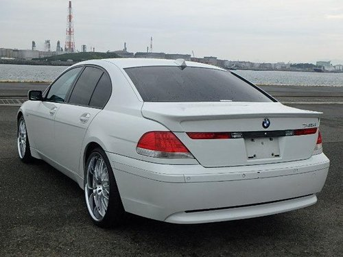 2004 BMW E65 7 SERIES 745i 4.4 V8 Auto Saloon *LOW MILEAGE* SOLD (picture 2 of 6)