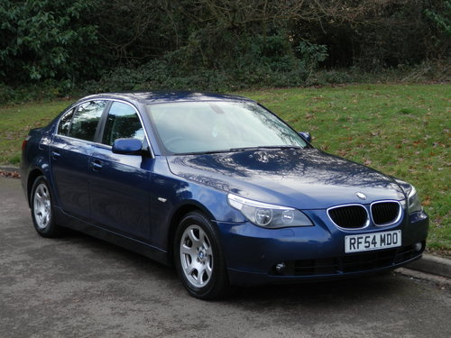 2004 BMW 525 Diesel SE.. Tiptronic Auto.. Bargain..  SOLD (picture 1 of 6)