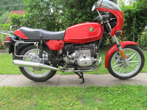 1981 BMW Type R45 Motocycle  For Sale (picture 1 of 6)