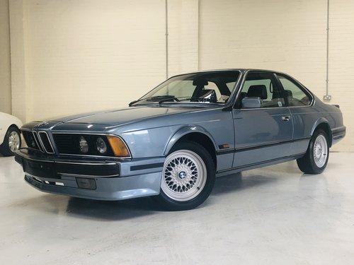 1988 BMW 635 CSI HIGHLINE E24  - RECENT RESTORATION SOLD (picture 1 of 6)
