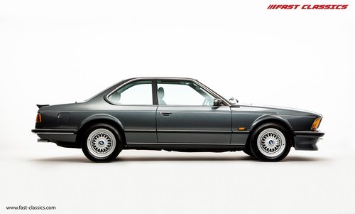 1987 BMW E24 M6 // SHARK NOSE BEAUTY WITH JUST 18K MILES SOLD (picture 1 of 6)
