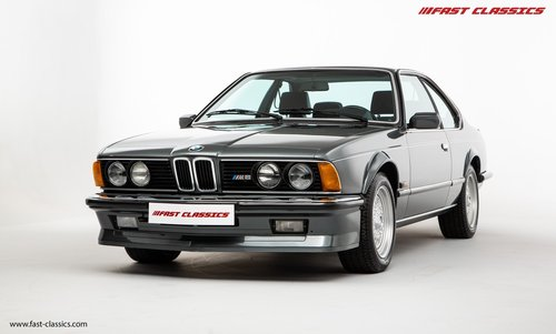 1987 BMW E24 M6 // SHARK NOSE BEAUTY WITH JUST 18K MILES SOLD (picture 2 of 6)