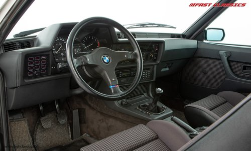 1987 BMW E24 M6 // SHARK NOSE BEAUTY WITH JUST 18K MILES SOLD (picture 4 of 6)