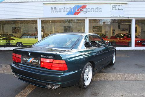1996 BMW E31 850CSi For Sale (picture 6 of 6)