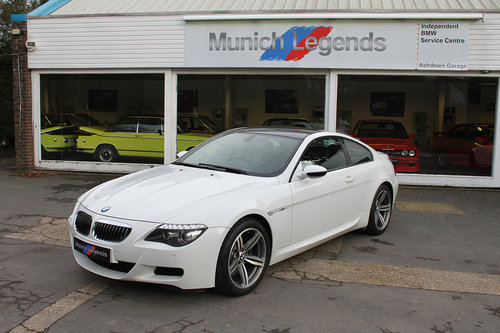 2008 BMW E63 M6 Coupe For Sale (picture 1 of 6)