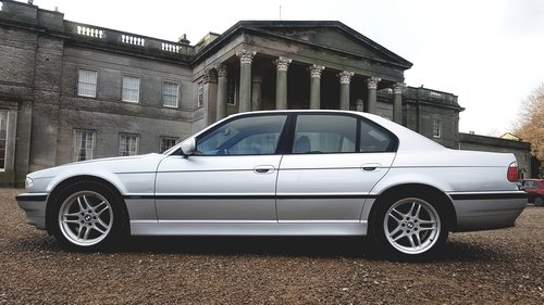 2001 Bmw 7 series 728i sport e38 1 owner low miles For Sale (picture 4 of 6)