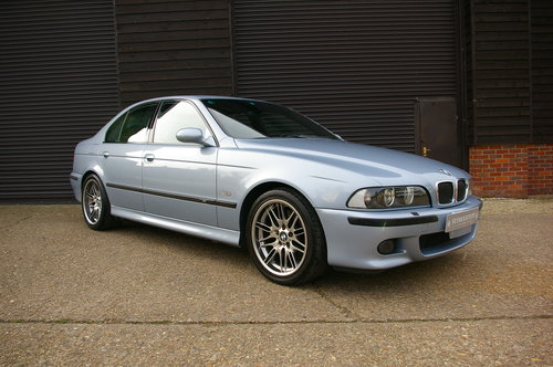 2000 BMW E39 M5 4.9 V8 Saloon 6 Speed Manual LHD (77,795 miles) For Sale (picture 1 of 6)