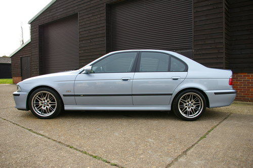 2000 BMW E39 M5 4.9 V8 Saloon 6 Speed Manual LHD (77,795 miles) For Sale (picture 2 of 6)