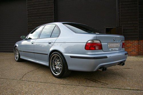 2000 BMW E39 M5 4.9 V8 Saloon 6 Speed Manual LHD (77,795 miles) For Sale (picture 3 of 6)