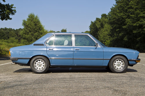 1979 BMW 520/6 Low Miles Fully Documented FBMWSH For Sale (picture 3 of 6)